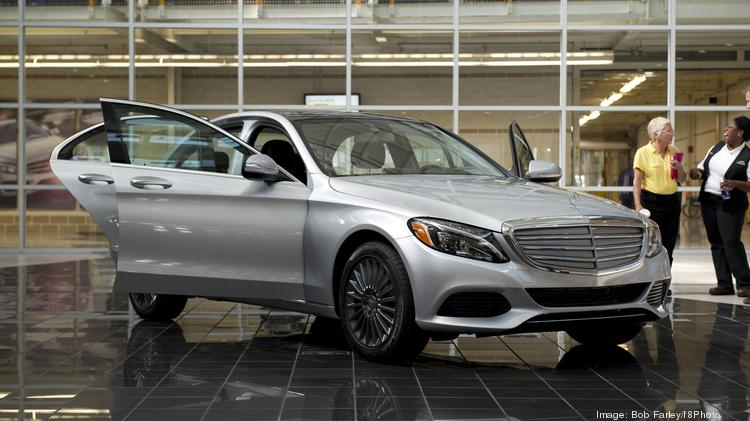 A look at the new Alabama-made Mercedes C-Class sedan.