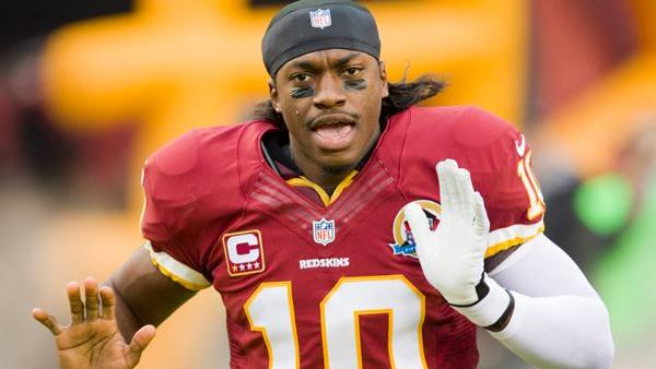 If owner Dan Snyder decided to change the name of his team quarterbacked by Robert Griffin III, it might cost him up to $10 million. But he's said he'll never change the name, and the organization is appealing the Patent and Trademark Office ruling canceling the team's trademark.