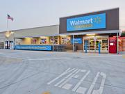 A Walmart Express store in Arkansas.
