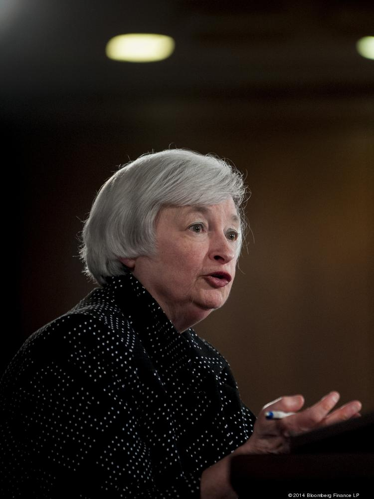 "Federal Reserve Chair Janet Yellen said ""there is no mechanical formula"" as to when the Fed will raise interest rates."