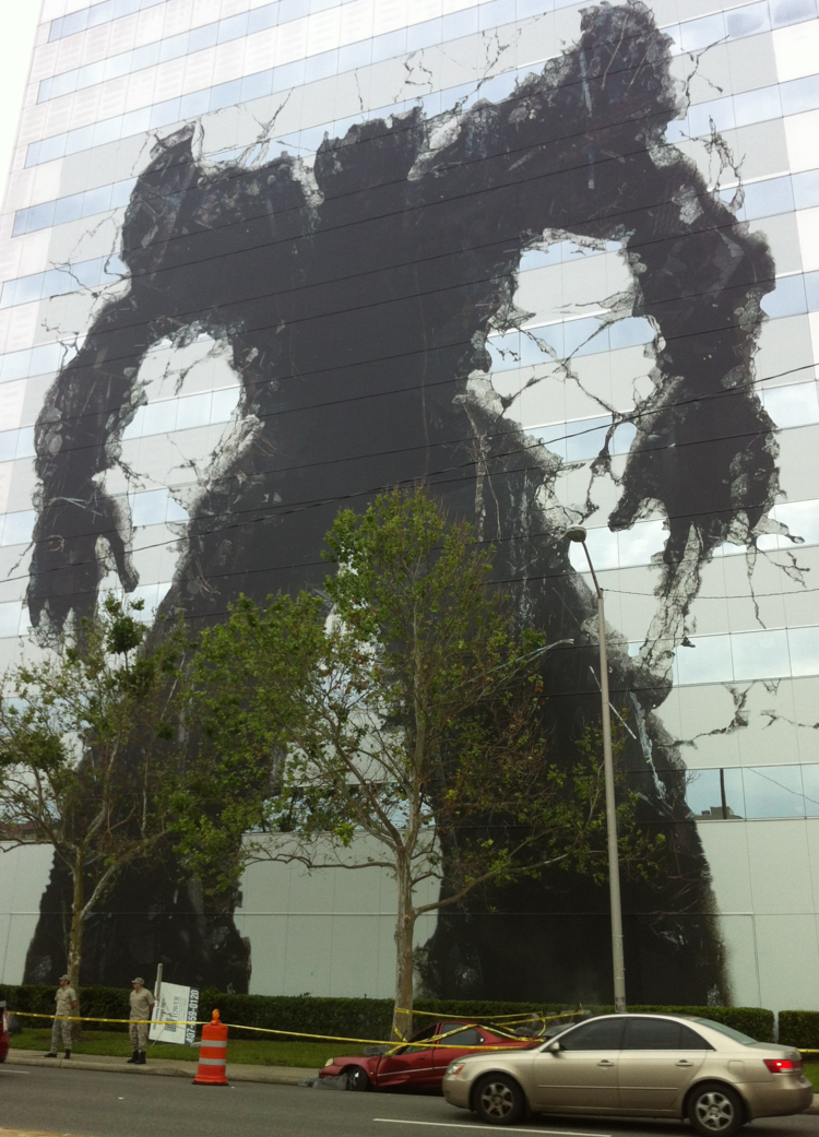Transformers took over the Fairwinds Building in downtown Orlando last week.