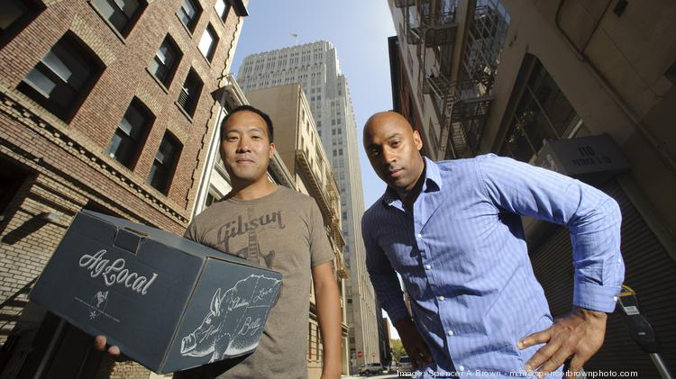 """People want to know what they're eating, where it comes from, how it's processed, and all that,"" said co-founder Mike Hsieh, left, with co-founder Naithan Jones."