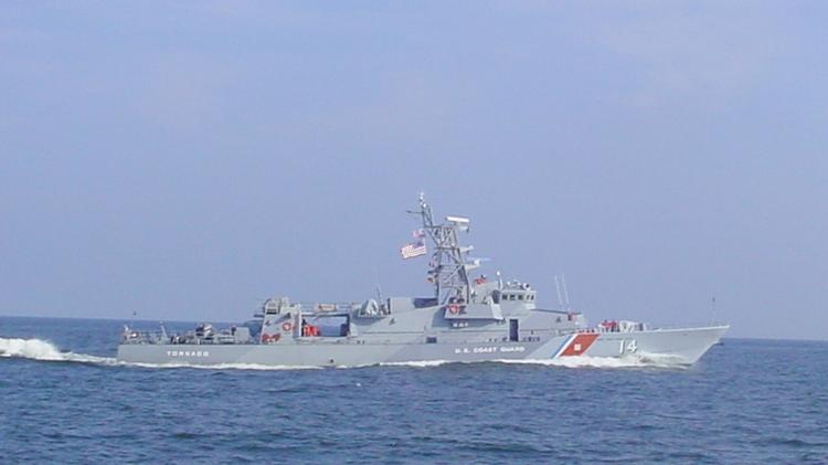 Shown during its time with the Coast Guard, the USS Tornado is now back under Navy command.
