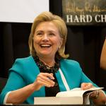 Hillary Clinton in Seattle for book-signing, fundraiser