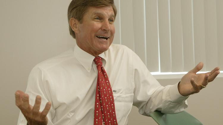 Mac Everett is the Charlotte Chamber's 2014 Citizen of the Carolinas award recipient.