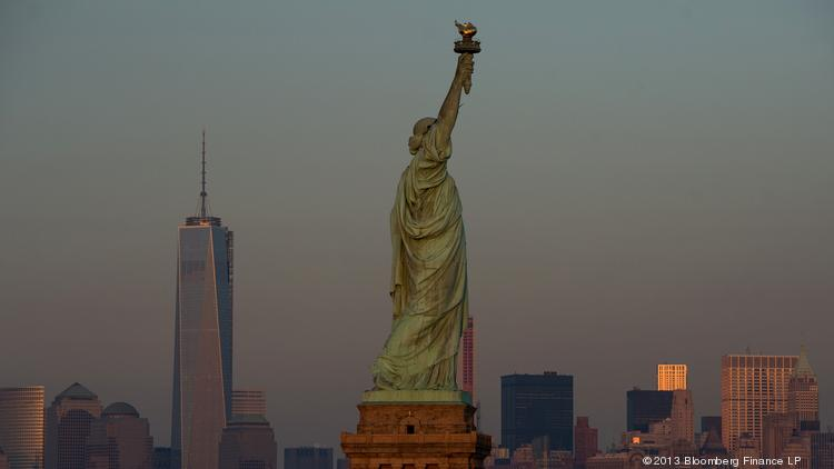 New York City will be the nation's top travel destination over the upcoming Fourth of July weekend, according to Expedia.