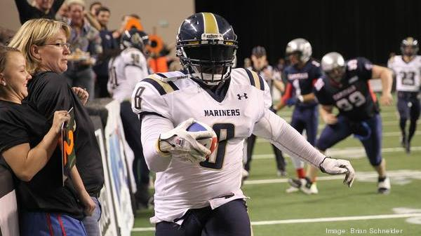 The Baltimore Mariners won the 2014 American Indoor Football League Championship, but their 2015 season hinges on whether they can meet their financial obligations to the Baltimore Arena.