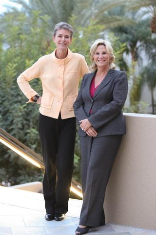 Beth Brooke-Marciniak and Donna de Varona