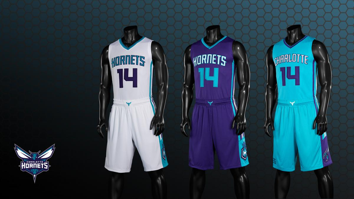 An early look at the new Charlotte Hornets uniforms - Charlotte ... 1e3c07c7c