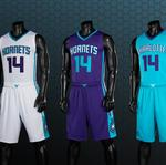 An early look at the new Charlotte Hornets uniforms