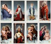 Memorial Brands' Vatican prayer cards.