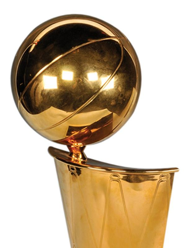 The San Antonio Spurs have won the 2014 Larry O'Brien Trophy.