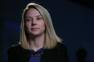 Marissa Mayer, chief executive officer of Yahoo! Inc.