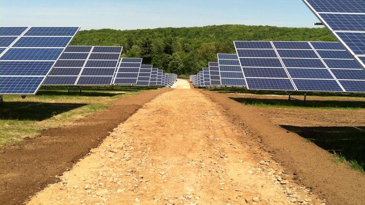 First Wind's solar project in Warren is just one of many installations that help put Massachusetts in the No. 5 position for solar energy among all states.