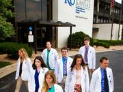 The eight students who were the first group to start medical school in Wichita as freshmen are about to enter their fourth year of medical school at the University of Kansas School of Medicine-Wichita. As they prepare to go out into the medical community, the group looks back on how they set the stage for further school expansion by proving that Wichita can accommodate — and sustain — a four-year medical program.