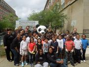 On April 19, Fairmont Washington, D.C., Georgetown joined with the World Wildlife Fund for the 10th year to help students clean the grounds and plant bushes and flowers at the Francis Stevens Educational Campus.