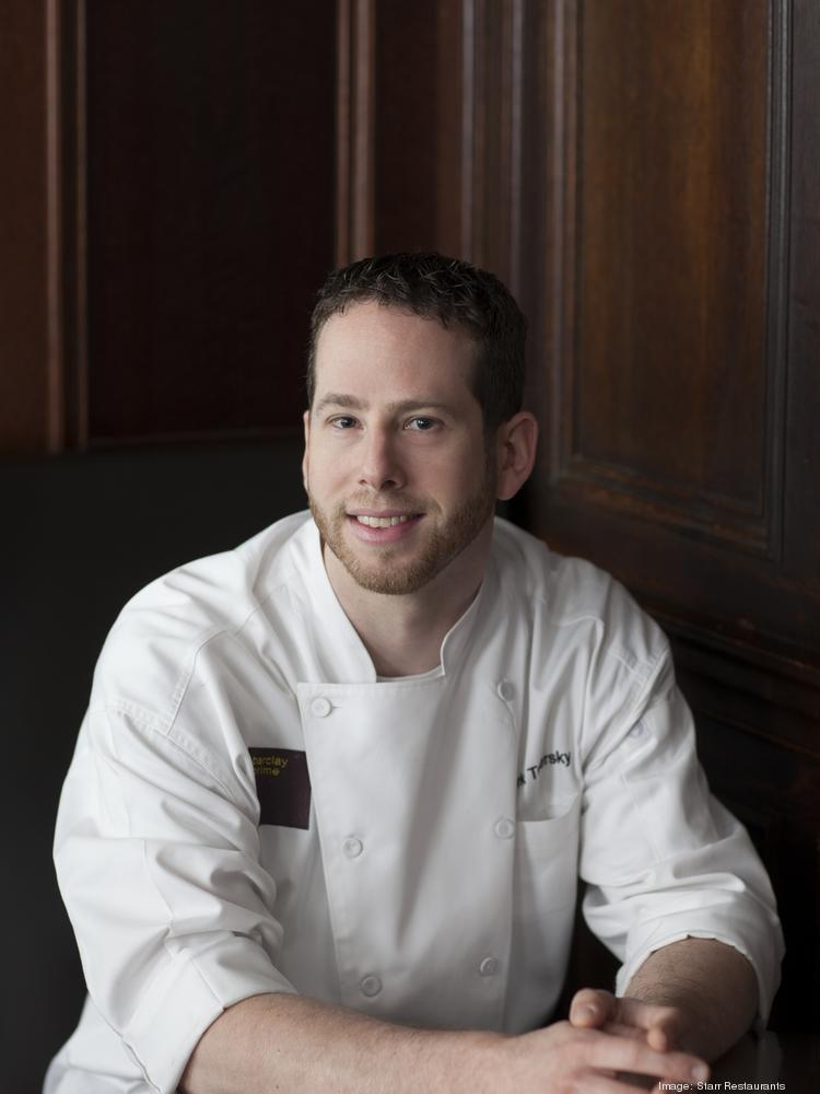 Barclay Prime Chef Mark Twersky came on board as executive sous chef in July 2013. He was promoted to executive chef in March 2014.