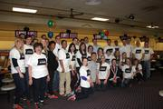 KPMG employees from the Tysons Corner and D.C. offices gathered at Bowl America Falls Church on April 24 for the first of two JA Bowl dates.