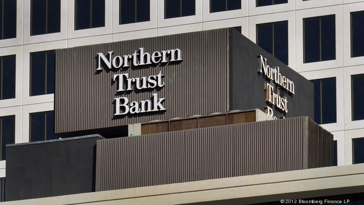 Northern Trust Corp. signage is displayed outside of the company's office in Miami.