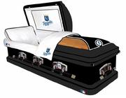 A Kansas City Royals casket from Brand Memorials runs for about $2,500.
