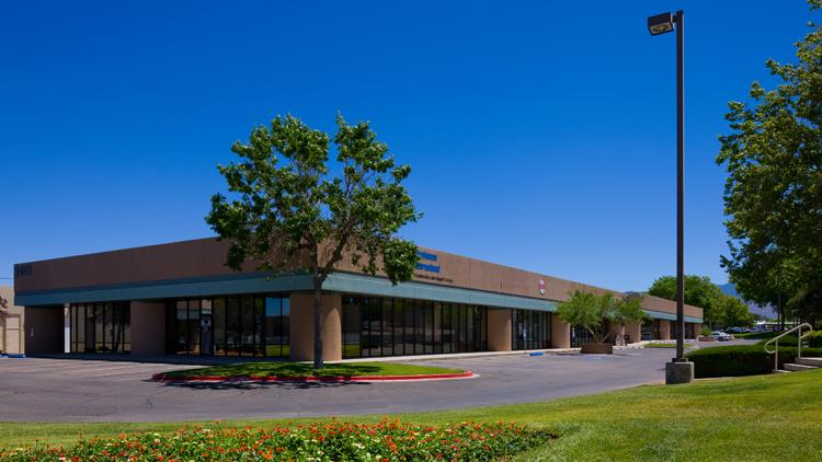 The 43,000-square-foot Candelaria Business Center in Albuquerque's Northeast Heights has been listed for sale.