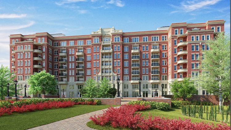 The JBG Cos. sold The Woodley apartments to TIAA-CREF for $195 million.