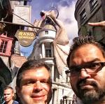 Harry Potter Diagon Alley and the journey of two OBJ reporters