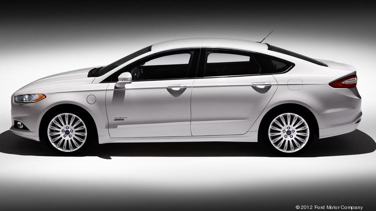 The new Ford Fusion Energi.