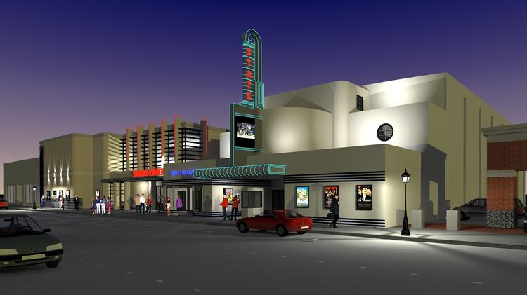 The city of Woodland hopes to give new life to the city's downtown.by getting Cinema West to redevelop the iconic, shuttered State Theatre into a modern, 10-screen movieplex.