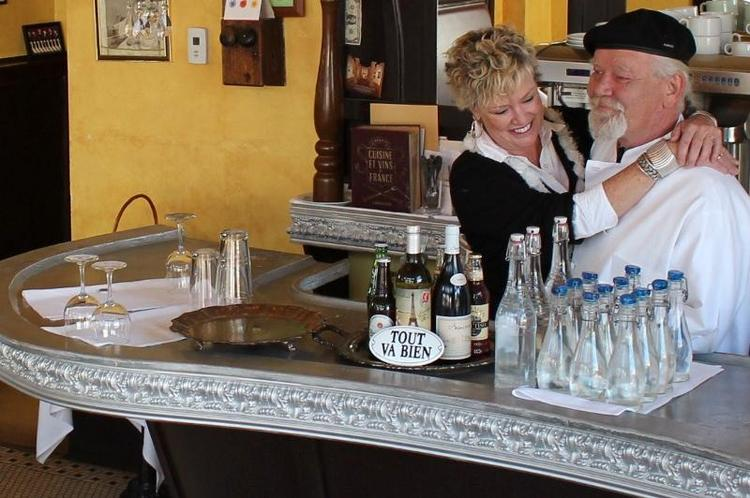Le Cafe Miche has reopened in Downtown Albuquerque. The restaurant, which had been closed for several years, previously operated in Albuquerque's Northeast Heights at 1431 Wyoming Blvd. NE. Claus and Linda Hjortkjaer, pictured, have taken their French-Continental cuisine to the former P'tit Louis space at 228 Gold Ave. SW, Claus Hjortkjaer said.