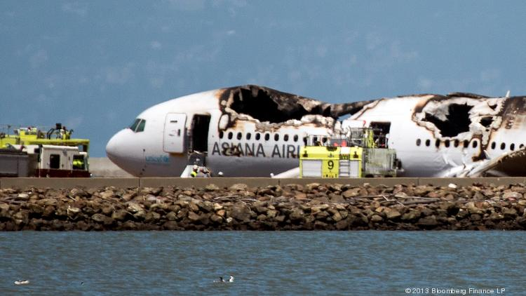 An Asiana Airlines Boeing 777 crash-landed at San Francisco International Airport on July 6, 2013.