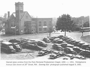 The site was formerly the home of the Peck Memorial Presbyterian Chapel, which was torn down in the 1950s. EastBanc Inc. owner Anthony Lanier said he believes he has a civic reponsibility to develop something fitting in stature on the property.