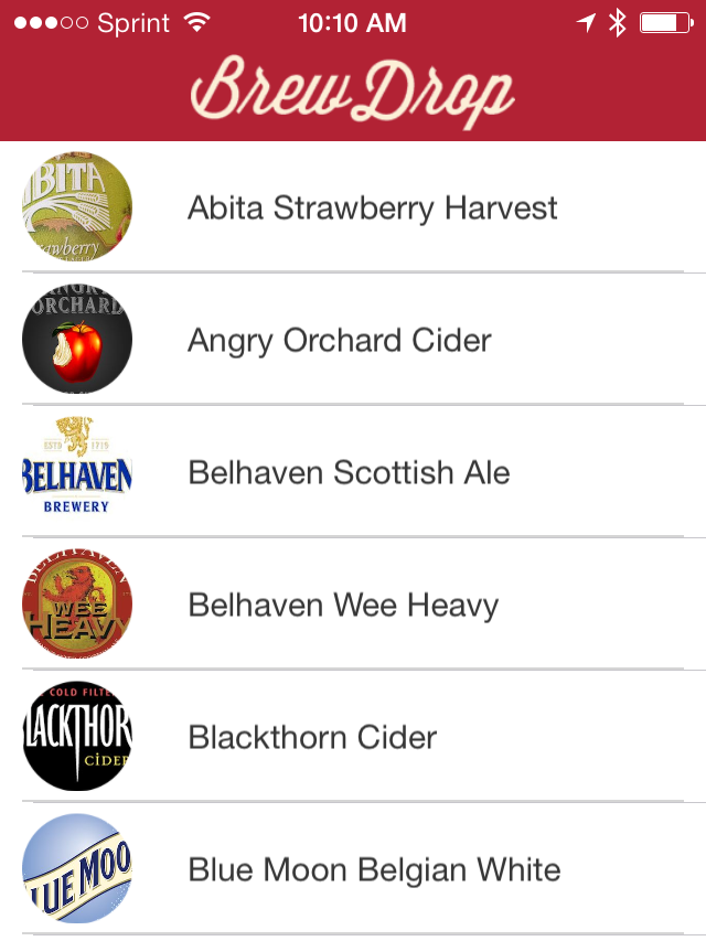BrewDrop Inc., an Austin-based on-demand alcohol delivery service, launched its mobile application late last week and is available for download by iPhone users in Austin.