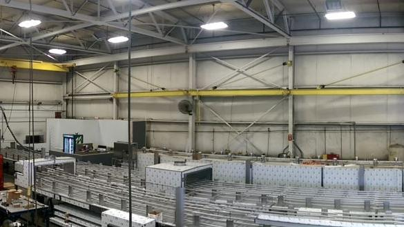 CES Freezing Technology is building the world's largest cryogenic tunnel freezer. Here's a look at its creation.