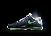 Nike's ZV9T tennis shoe will be worn by Roger Federer at the 2013 French Open.