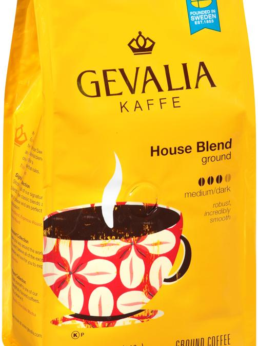 Kraft Foods rolled out its Gevalia Kaffe coffee brand in retail stores in 2012.