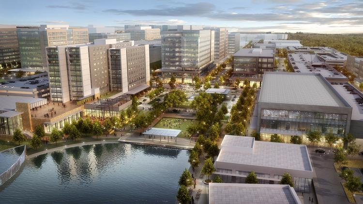 CityPlace will include 400,000 square feet of retail space throughout the development.