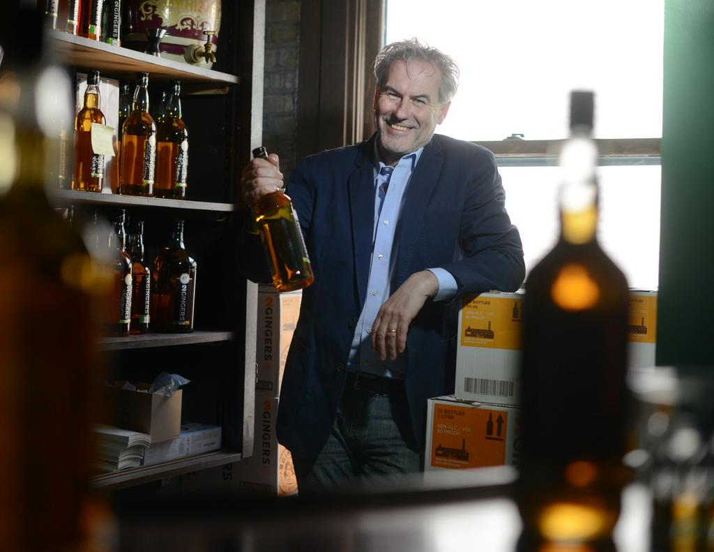Kieran Folliard created 2 Gingers in 2011. The Irish whiskey will soon be  sold in