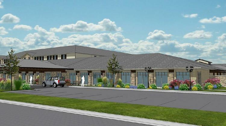 The 120,000-square-foot senior living facility is expected to get underway with construction beginning in late 2014.