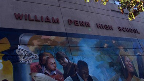 William Penn High School has been purchased by Temple University.