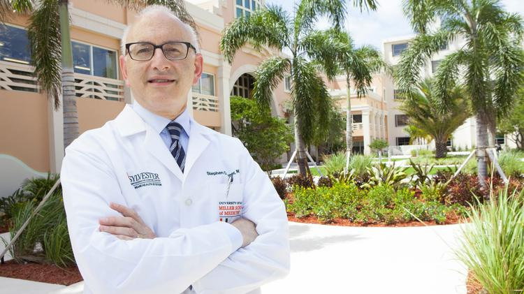 Dr. Stephen Nimer, director of the University of Miami Sylvester Comprehensive Cancer Center