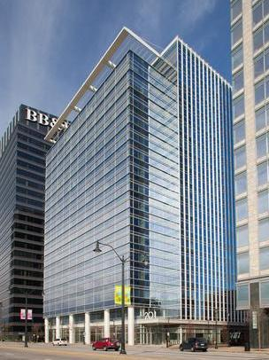 """201 17th in Atlantic Station makes up part of Atlanta's growing inventory of """"green"""" buildings."""
