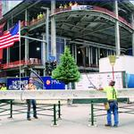 PNC places last steel beam on new headquarters building (Video)