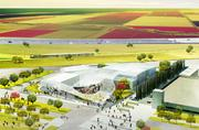 The Grand Canopy design, with 50,000 square feet of shade, was selected for the UC Davis Jan Shrem and Maria Manetti Shrem Museum of Art. The design was the concept of New York-based design firm SO-IL. The museum will be visible to motorists along Interstate 80.