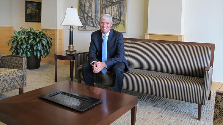 Mike Lovell, until recently chancellor at the University of Wisconsin-Milwaukee, has now settled into his new job as president at Marquette University.