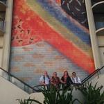 Hilton Hawaiian Village in Waikiki unveils renovated rainbow mural: Slideshow