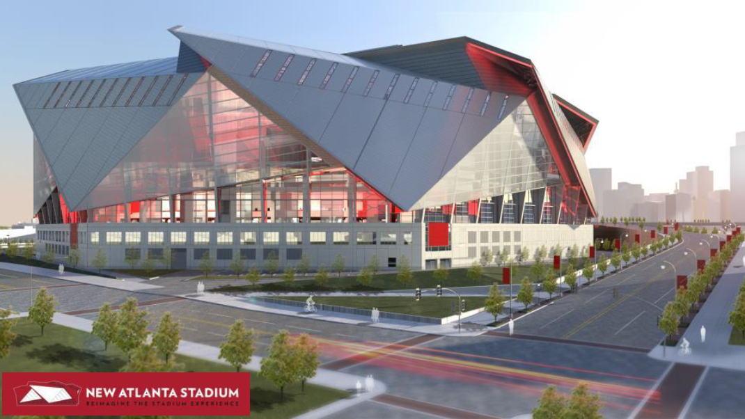 Atlanta falcons personal seat licenses to range from 500 for Mercedes benz stadium psl