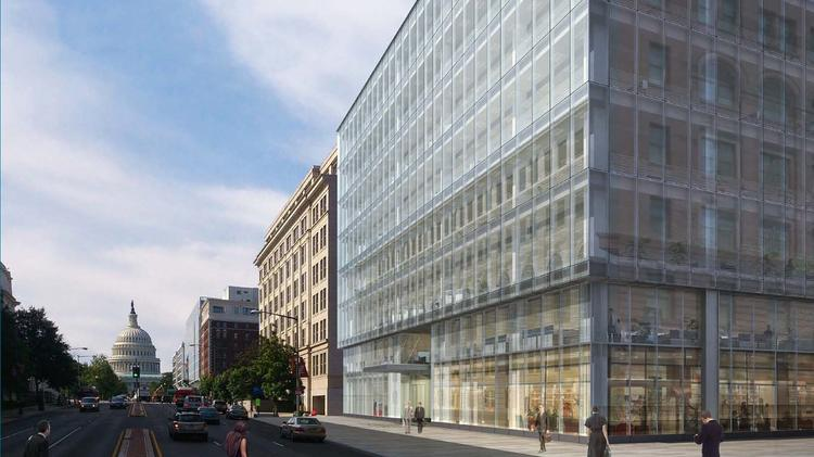 Republic Properties Corp. plans to break ground next week on 660 N. Capitol St., the second of two buildings at its Republic Square development by Massachusetts Avenue and North Capitol Street.