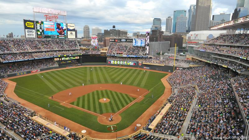 Target Field in Minneapolis, where the 2014 All-Star game will be played.