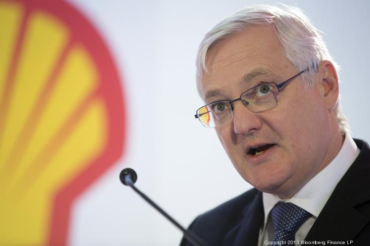Peter Voser, chief executive officer of Royal Dutch Shell Plc,